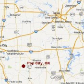 Rubye's Blog:  Pop City, Oklahoma